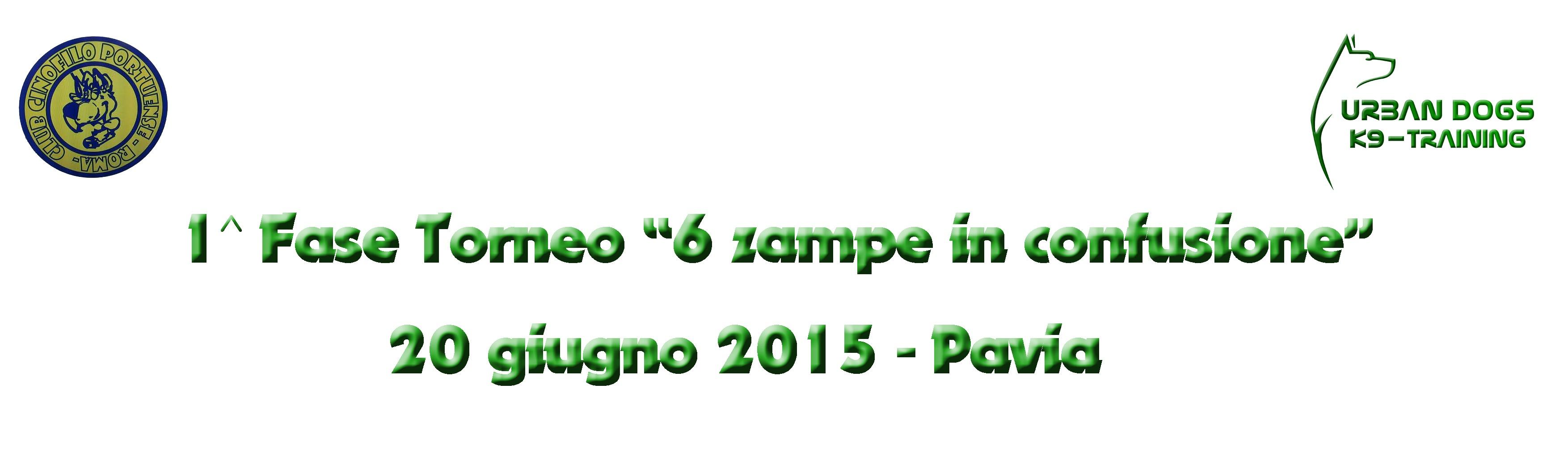 """Garetta Sociale Urban Dogs-Club Cinofilo Portuense """"6 zampe in confusione"""""""